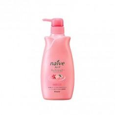 Kracie Naïve Бальзам-ополаскиватель восстанавливающий для сухих волос с экстрактом персика, 550 мл