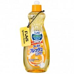 Funs Жидкость для мытья посуды свежий апельсин 600 мл