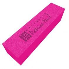 Patrisa Nail, Шлифовочный блок, неоновый розовый, 180/240