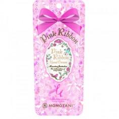 крем для рук с цветочными экстрактами momotani pink ribbon hand cream