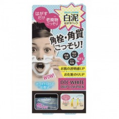 очищающая маска-пленка momotani dtc deep clay pack