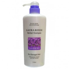 шампунь лаванда для сухих поврежденных волос laura rosse herbal shampoo lavender