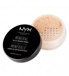 NYX PROFESSIONAL MAKEUP Фиксирующая пудра Mineral Finishing Powder - Light/medium 01