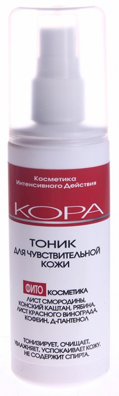 KORA Тоник для чувствительной кожи 150 мл