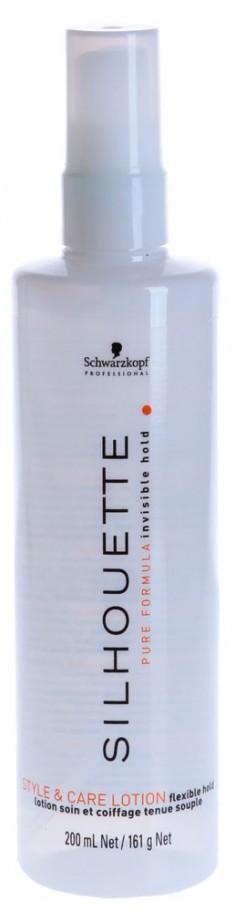 SCHWARZKOPF PROFESSIONAL Спрей безупречный объем и уход мягкой фиксации / SILHOUETTE 200 мл