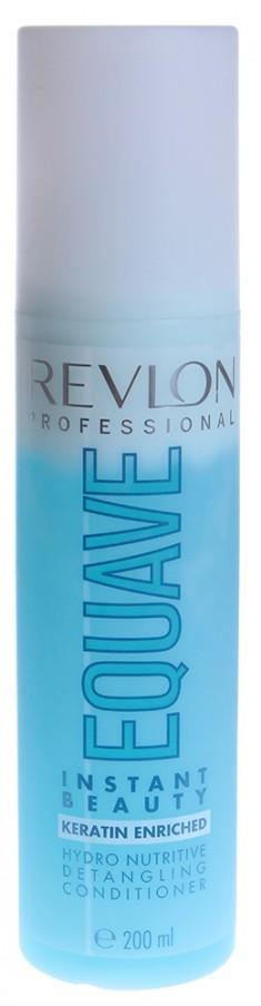 REVLON PROFESSIONAL Кондиционер несмываемый 2-х фазный увлажняющий и питательный / EQUAVE INSTANT BEAUTY HYDRO 200 мл