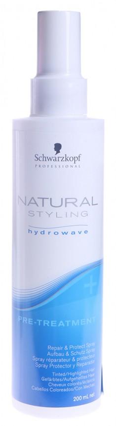 SCHWARZKOPF PROFESSIONAL Спрей-уход восстановление и защита перед химической завивкой / NS Pre-Treatment Repair & Protect 200 мл
