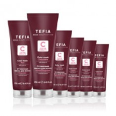 TEFIA Маска оттеночная для волос, платиновая / Color Creats 250 мл