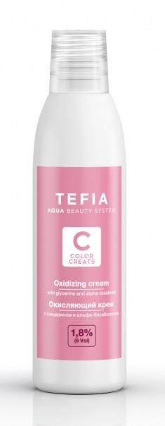 TEFIA Крем окисляющий 1,8% (vol. 6) / Color Creats 120 мл