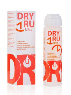 DRY RU Средство от обильного потоотделения с пролонгированным действием / Ultra 50 мл