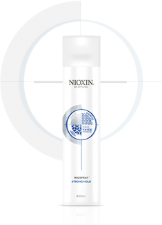 NIOXIN Лак сильной фиксации для волос / NIOXIN 400 мл