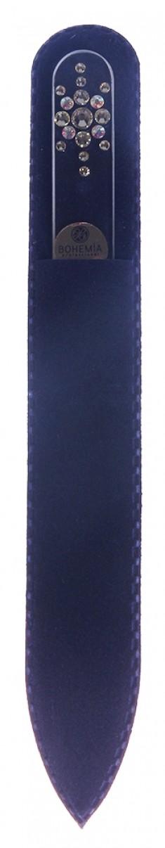 BHM PROFESSIONAL Пилочка стеклянная прозрачная, снежинка 135 мм BOHEMIA PROFESSIONAL