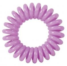 DEWAL BEAUTY Резинки для волос Пружинка, цвет фиолетовый 3 шт
