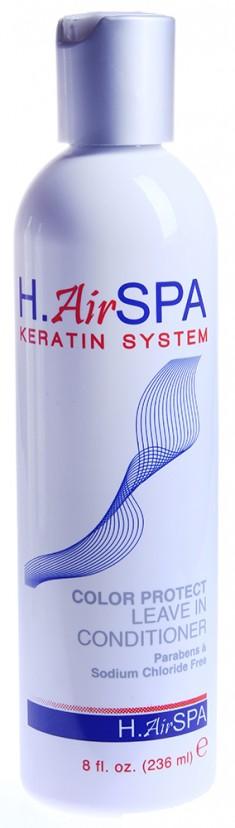 H AIRSPA Кондиционер несмываемый для окрашенных волос / Color Protect Leave-in Conditioner 236 мл