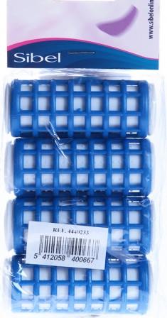 SIBEL Бигуди термо 24 мм 4 шт/уп