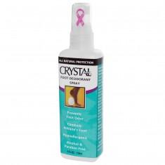 CRYSTAL Дезoдорант-спрей для ног / Crystal Sprey Foot 118 мл