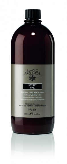 NOOK Маска секретная разглаживающая и увлажняющая Магия Арганы / MAGIC ARGANOIL 1000 мл