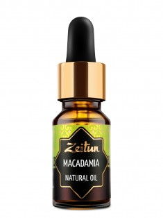 Натуральное растительное масло макадамии, 10 мл