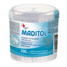 Ватные палочки  Maditol с ионами Ag N200