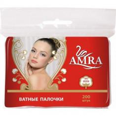 Amra Ватные палочки 200шт пакет