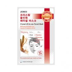 Маска c красным женьшенем тканевая, 25 г (Mijin)