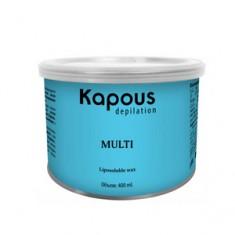 Жирорастворимый воск с ароматом шоколада в банке, 400 мл (Kapous Professional)