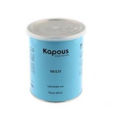 Жирорастворимый воск с оксидом цинка в банке, 800 мл (Kapous Professional)