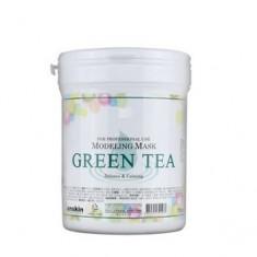 Маска альгинатная с экстрактом зеленого чая, банка, 240 г (700 мл) (Anskin)