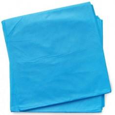 Коврик из спанбонда 40*50 см, голубой, 100 шт. (Чистовье) ЧИСТОВЬЕ