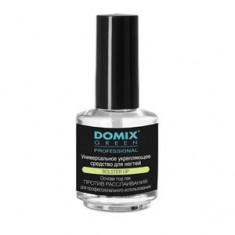 Средство укрепляющее универсальное для ногтей, 17 мл (Domix Green Professional)