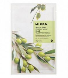 Тканевая маска с оливой MIZON Joyful Time Essence Mask Olive
