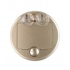 Gezatone LM100 Зеркало косметологическое 10x с подсветкой золотое
