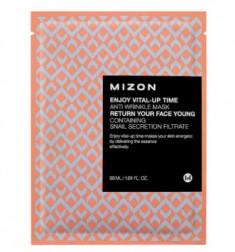 Тканевая антивозрастная маска MIZON Enjoy Vital Up Time Anti Wrinkle Mask 30мл