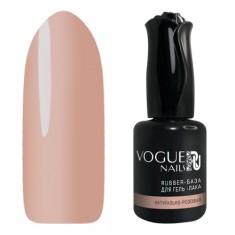 Vogue Nails, База для гель-лака Rubber, натурально-розовая, 18 мл