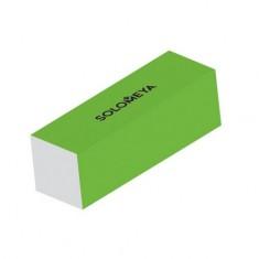 Solomeya, Блок-шлифовщик для ногтей, зеленый, 120