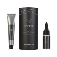 ONIQ, Набор для окрашивания бровей Vector, Black