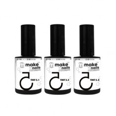 Nano Professional, Набор Make up for nails, Tint set