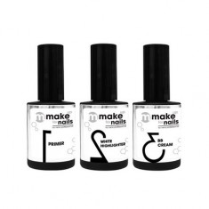 Nano Professional, Набор Make up for nails, Basic set