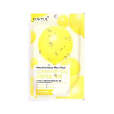 Тканевая маска с коэнзимом Q10 EUNYUL Natural Moisture Mask Pack Coenzym 22мл