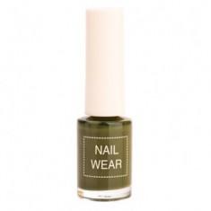 Лак для ногтей The Saem Nail Wear 88.Quiet green 7мл