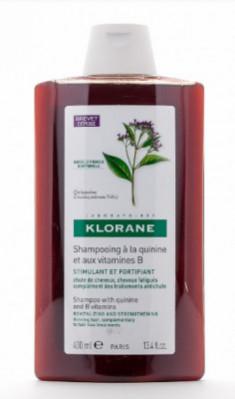 Шампунь укрепляющий с экстрактом Хинина Klorane Thinning Hair 400 мл