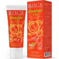 Рокс Зубная паста Junior Фруктовая радуга 74г ROCS