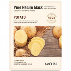 Маска тканевая с картофелем Anskin Secriss Pure Nature Mask Pack-Potato 25мл