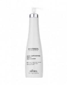 Шампунь восстанавливающий для прямых поврежденных волос Kaaral Maraes Sleek Empowering Shampoo 300мл