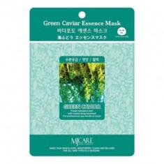 Маска тканевая морской виноград Mijin Green Caviar Essence Mask 23г