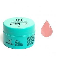 Tnl, acryl gel, камуфлирующий акрил гель, натуральный розовый, 18 мл