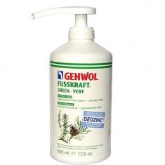 Gehwol, fusskraft green, зеленый бальзам, 500 мл