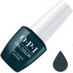 Opi, gelcolor, гель-лак, cia color is awesome, 15 мл