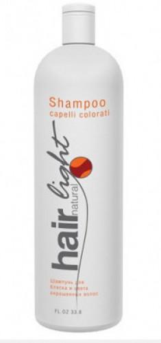 Шампунь для блеска и цвета окрашенных волос Hair Company Hair Natural Light Shampoo Capelli Colorati 1000мл