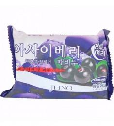 Juno Мыло с отшелушивающим эффектом с асаи 150 мл